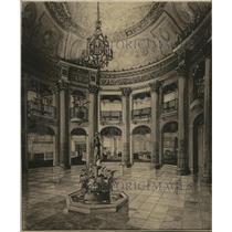 1921 Press Photo Interior of the Allen Theater - cva96366