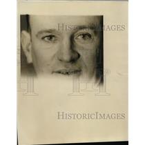 1927 Press Photo Eyes of Detective Hugh Dugan