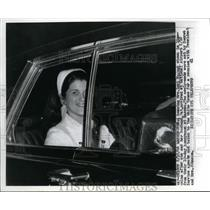 1966 Press Photo Mrs Luci Nugent Daughter of President Lyndon Johnson