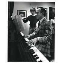 1984 Press Photo David Bamberger and Nancy Snell - cva98366
