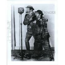 Press Photo Weber and Fields on their radio program - cva78561