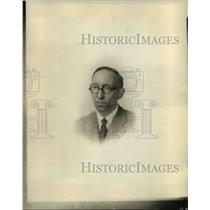 1928 Press Photo S. Lirbrains, works manager Victor Machine Co.