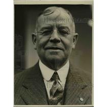 1929 Press Photo Edward F Crocker Chief of New York Fire Department