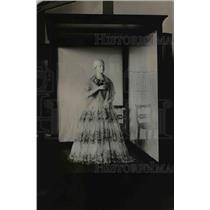 1921 Press Photo Julia Gardiner Tyler Wife of John Tyler Inaugural Gown