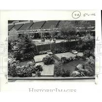 1983 Press Photo A scene from the Home and Flower Show - cvb03779