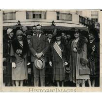 1928 Press Photo Delegates to Womens Patriotic Conference on National Defence