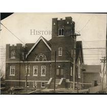 1914 Press Photo The Exterior of Collinwood M.E. Church - cva86521
