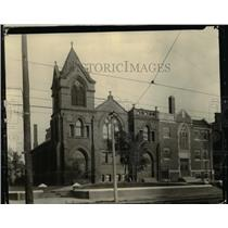1920 Press Photo St. Lukes Evangelical Church, Pearl Rd. and Memphis Ave.