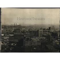 1920 Press Photo Cleveland Overview - cva83519