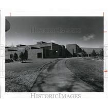 1974 Press Photo Entrance of Orange High School - cva93211