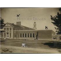 1921 Press Photo Miles Standish school from Parkgate Avenue - cva95708
