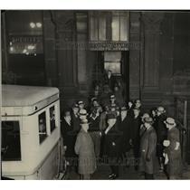 1931 Press Photo Sheriff John Sulzmann and the entire staff of deputies