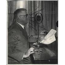 1928 Press Photo Police Superintendent James Washington - cva78973