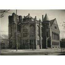 1920 Press Photo First Congregational Church, Franklin & E 45th - cva85446