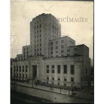 1931 Press Photo Cleve. New County Jail - cva82370