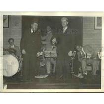 1934 Press Photo Orchestra at the County Jail - cva96825