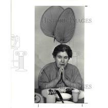 1988 Press Photo Mary Direnzo of Tremont Cleveland ohio - cvb02106
