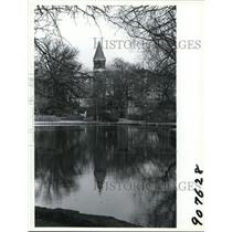 1994 Press Photo The Orton Hall Bell Tower at the Ohio State University