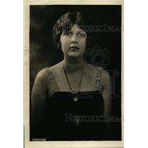 1922 Press Photo Elizabeth Hanna Granddaughter of late Senator & Mrs Mark Hanna