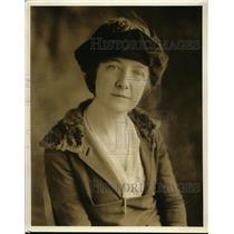 1920 Press Photo Miss Irene Hickey Oklahoma City Oklahoma