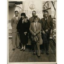 1930 Press Photo Mr William Hawkins Vice Chairman Board of Newspaper