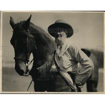 1925 Press Photo John R Heffron Father of California Rodeo