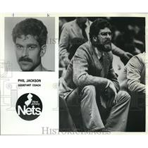 1980 Press Photo Phil Jackson, Assistant Coach for New Jersey Nets