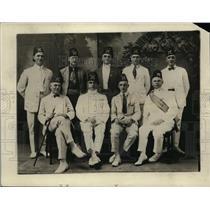 1923 Press Photo Army Officers C E Alexander Captain C Newcomb WPAT Von Hartung