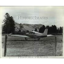 1967 Press Photo Beechcraft Bonanza E33 Plane
