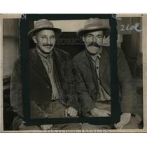 1923 Press Photo Joseph Miller & John Stein