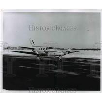 1967 Press Photo Breeheraft Duke Plane