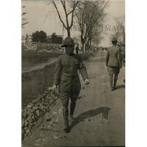 1918 Press Photo Theodore Roosevelt Jr at Plattsburg