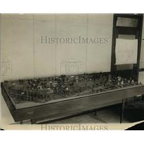1925 Press Photo US Childrens Bureau of Department of Labor Toy Town Model