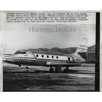 1958 Press Photo Leekheed Aircraft Corp 1st Jetstar Prototype Exceeded 630 MPH