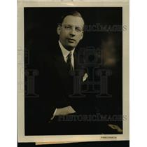 1929 Press Photo Mr Carl Johansson Swedish Counsel in Boston