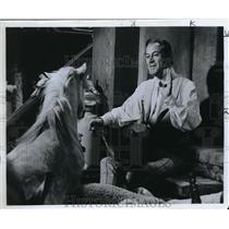 1967 Press Photo ..Harrison plays Doctor Dolittle
