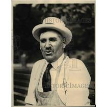 1924 Press Photo August karlsen Bostons Official Garden Artist