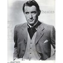 1954 Press Photo Gregory Peck in Man With Million
