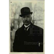 1921 Press Photo Captain Ernesto Vasconcellos Portugal Delegate Arms Conference