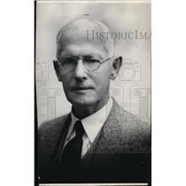 1933 Press Photo Chas Breed Spokesman Review Circulation Manager Spokane