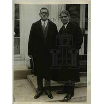 1927 Press Photo Louis Honig and James O'Shaughnessy of American Advertising