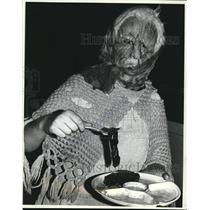 1981 Press Photo Cleveland PAL's Haunted School - cva78042