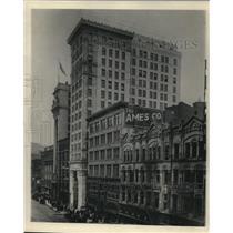 1922 Press Photo Central United Bank building - cva85902