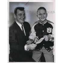 1966 Press Photo Richard Gluzyrk and Ricky Billy - cva74665