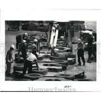 1986 Press Photo The highest number of steel making employees - cva99471