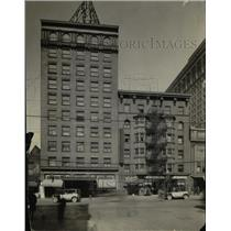 1924 Press Photo Gillsy Hotel on E. 9 St - cva90598