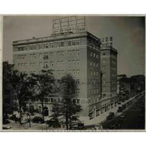 1926 Press Photo Bottom Square Hotel, Cleveland - cva90523