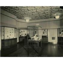 1923 Press Photo Interior of the Cleveland Museum of Natural History - cva96775