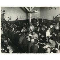 1932 Press Photo Dining Hall at Wayfarer's Lodge - cva87607