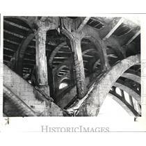 1982 Press Photo Old Brooklyn Bridge in Cleveland. - cva81533